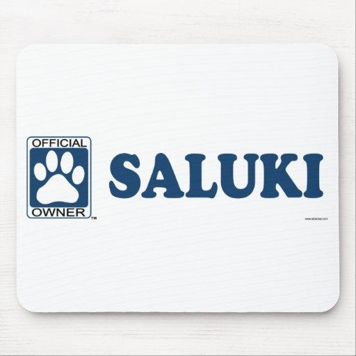 SALUKI_blue Mouse Pad