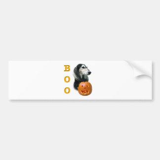 Saluki Boo Bumper Sticker