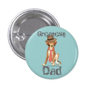 Saluki Dad Button