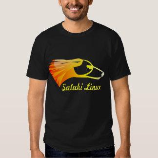 Saluki Linux Tshirts