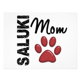 Saluki Mom 2 Personalized Flyer