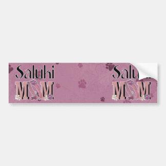 Saluki MOM Bumper Sticker
