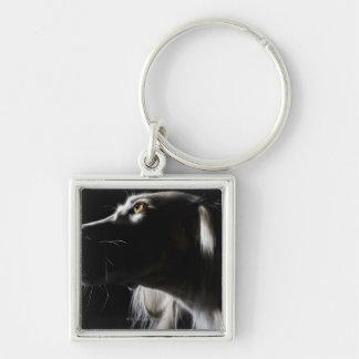 Saluki, retrato llaveros personalizados