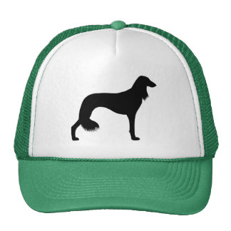 Saluki Silhouette Trucker Hat