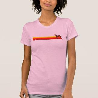 Saluki With Stripes T-Shirt