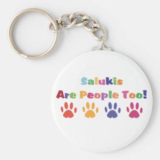 Salukis es gente también llavero redondo tipo chapa