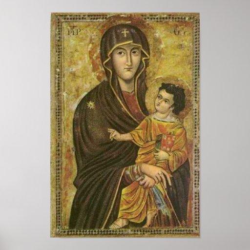 Salus Populi Romani Pictura de S. Maria Majore Poster