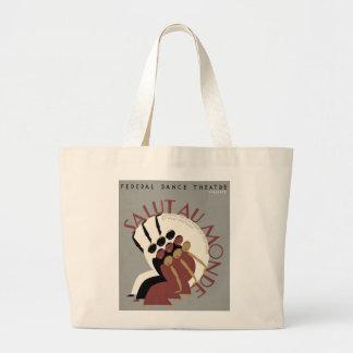 Salut Au Monde Tote Bags