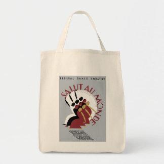 Salut Au Monde Tote Bag