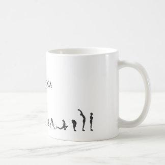 salutation iloveyoga coffee mugs