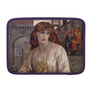 Salutation of Beatrice by Dante Gabriel Rossetti MacBook Air Sleeve