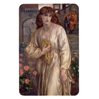 Salutation of Beatrice by Dante Gabriel Rossetti Magnet