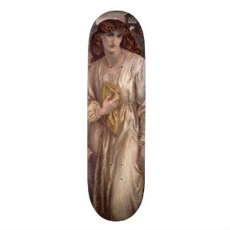 Salutation of Beatrice by Dante Gabriel Rossetti Skateboard