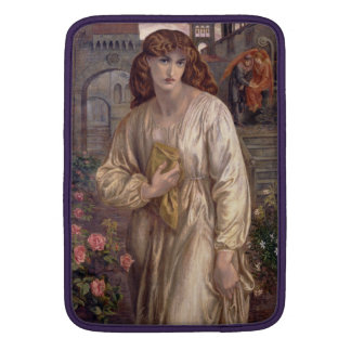 Salutation of Beatrice by Dante Gabriel Rossetti Sleeve For MacBook Air
