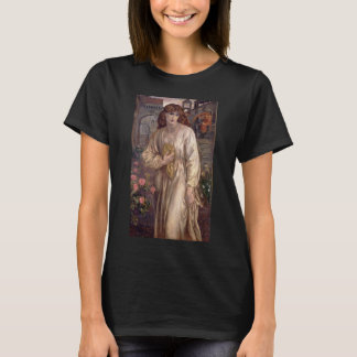 Salutation of Beatrice by Dante Gabriel Rossetti T-Shirt