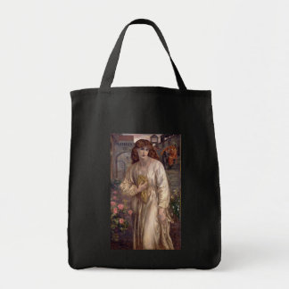 Salutation of Beatrice by Dante Gabriel Rossetti Tote Bag