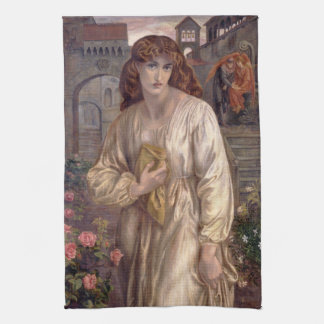 Salutation of Beatrice by Dante Gabriel Rossetti Towels