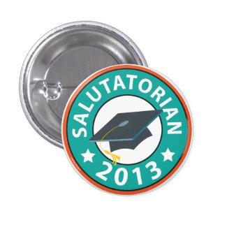 Salutatorian button