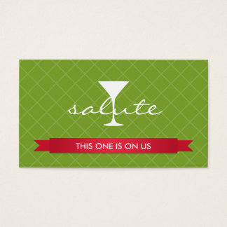 Salute alcoholic drink ticket party event voucher