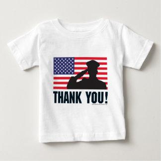 Salute Baby T-Shirt