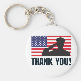 Salute Key Chains