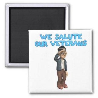 Salute Our Veterans Magnet