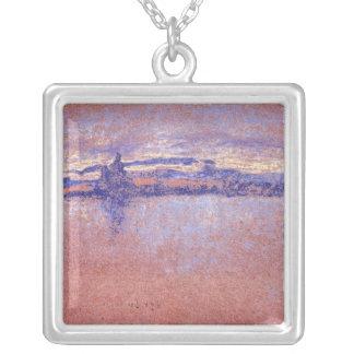 Salute, Sundown, framed by Whistler Pendant