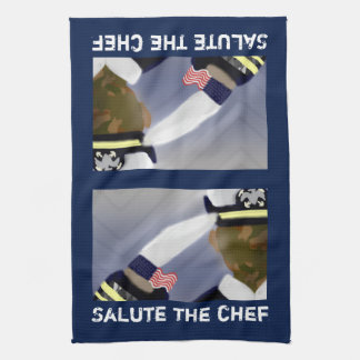 "Salute the Chef Kitchen Towel 16"" x 24"""