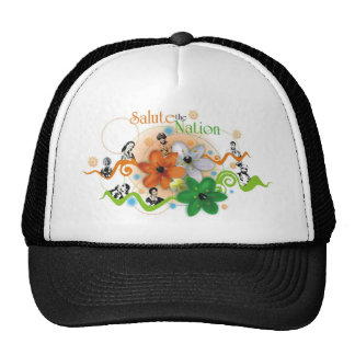 Salute the nation trucker hat