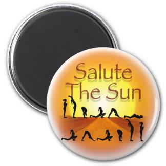 Salute the Sun Magnet