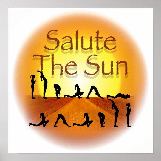 Salute the Sun Poster