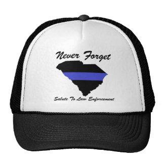 Salute To Fallen Law Enforcement Trucker Hat