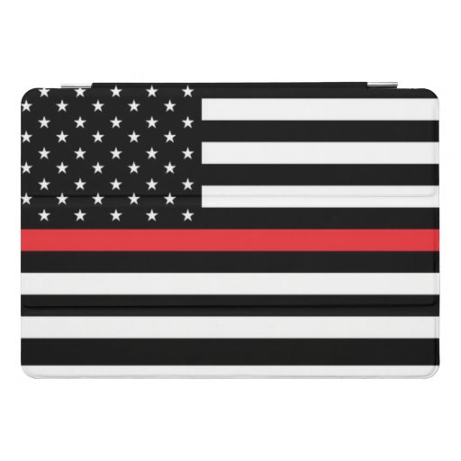 Salute To Firefighter iPad Pro Cover