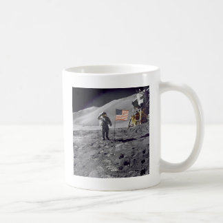 salute to flag coffee mug