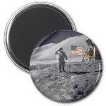 salute to flag refrigerator magnet