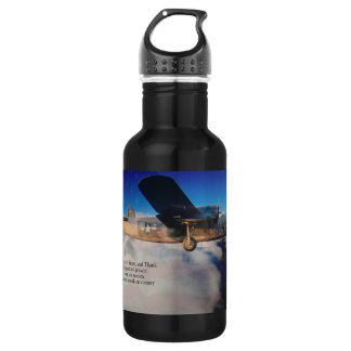 Salute to Our Veterans 18oz Water Bottle
