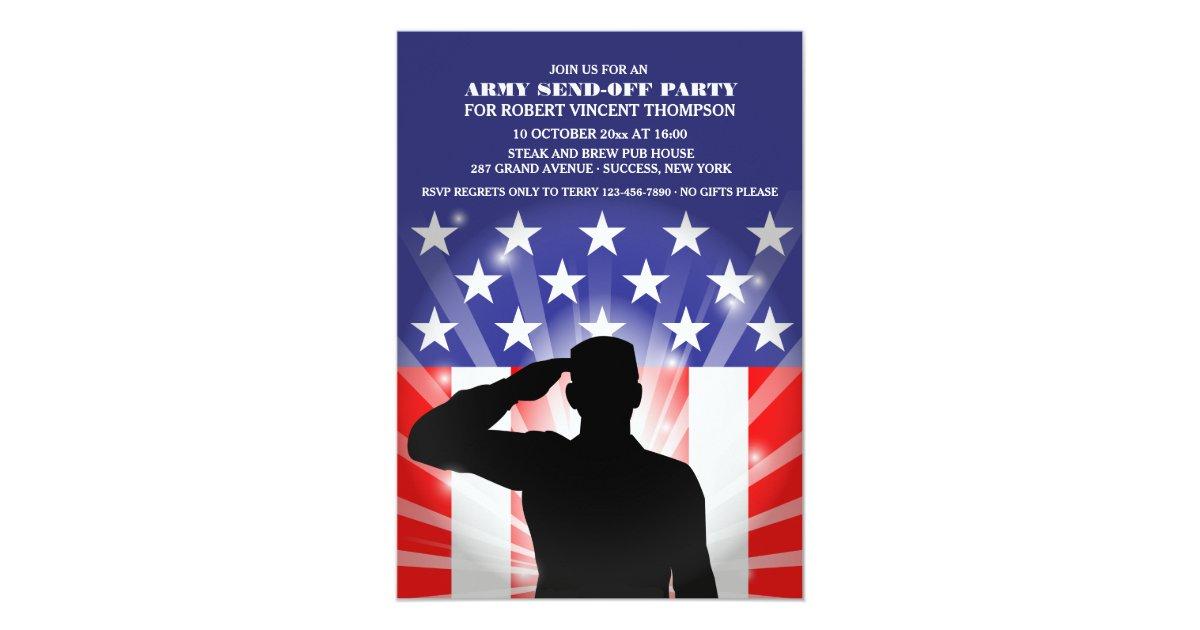 Military Invitations & Announcements | Zazzle