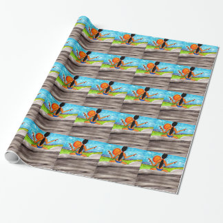Salute to the Sun Wrapping Paper