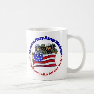 Salute to Troops Coffee Mug