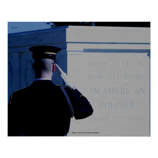 Salute, Tomb of the Unknown Soldier Poster