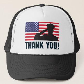 Salute Trucker Hat
