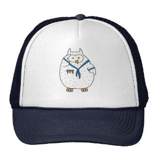 Saluter Hooter Trucker Hat
