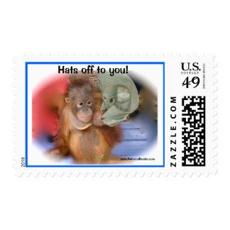 Saluting: Hats off to you Postage