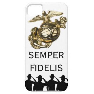 Saluting Sergeants - Semper Fidelis iPhone SE/5/5s Case