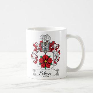 Saluzzo Family Crest Coffee Mug