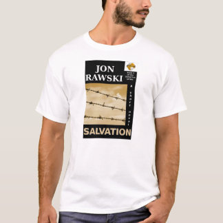Salvación (una novela corta) por Jon Rawski Playera