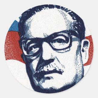 Salvador Allende - Venceremos Classic Round Sticker