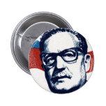 Salvador Allende - Venceremos Pin Redondo De 2 Pulgadas