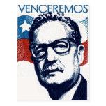 Salvador Allende - Venceremos Tarjetas Postales
