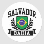 Salvador Bahía Etiqueta Redonda